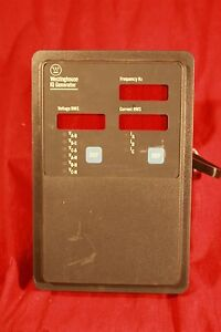 Westinghouse Iq Generator Data Module 2d78533 With Power Supply 9966d75g02