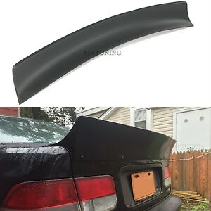 Rear Jdm Boot Trunk Ducktail Spoiler Wing Lip fits Honda Civic Mk6 Coupe