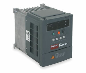 Ac Inverter Adjustable Frequency Drive 1 4 Hp 0 2 Kw 3 Ph 230v