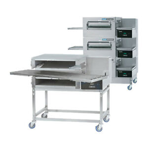 Lincoln 1180 3g Gas Express Triple Stack Conveyor Oven