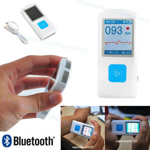 Contec Handheld Portable Color Lcd Ecg Hr Machine usb Pm10 Bluetooth Fda Proved