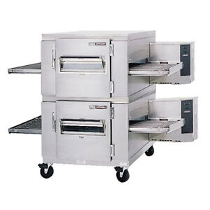 Lincoln 1400 fb2e Electric Double Stack Conveyor Oven W Fastbake