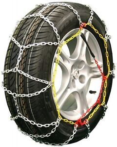 215 60 14 215 60r14 Tire Chains Diamond Back Link Traction Passenger Vehicle