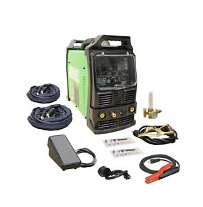Powertig 210ext 110v 220v 200amp Acdc Tig Stick Advance Pulse Welder Everlast