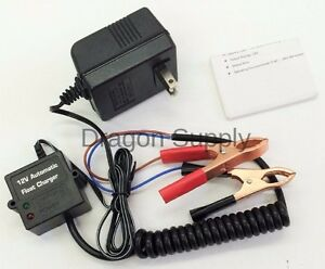 New 12v Volt Automatic Car Battery Float Trickle Charger Car Boat Ac Charger