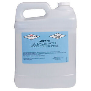 Deionized water Extinguishing Agent For 1 75gal Fire Extinguisher 2 Pk