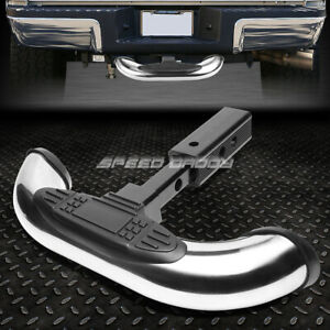 1 25 2 Receiver Chrome Trailer Towing Tailgate hitch Cover Rear Step Bar Guard