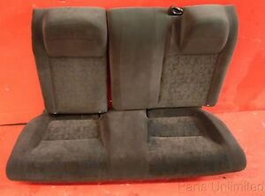 01 05 Honda Civic Oem Rear Seat Assembly Gray Cloth Stock Factory Coupe