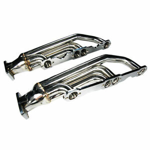 Chevy Small Block 283 305 327 350 400 Camaro Firebird 5 0 T3 Twin Turbo Manifold
