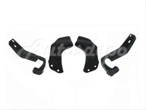 For 1988 1993 Chevy Gmc Truck C K Front Bumper Face Bar Bracket Brace Set 4pcs