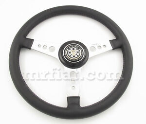 Jaguar Xke E Type Series 1 1 5 2 3 Oem Moto Lita 15 Leather Steering Wheel New