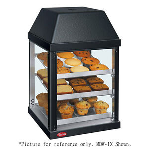 Hatco Mdw 2x 470 Watt Pass thru Mini Display Warmer With 3 Magnetic Shelves