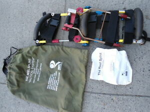 The Reel Splint tactical System Splin Traction And Extraction Adult used