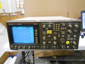Philips Pm 3320a Max Sample Rate 250ms s Oscilloscope