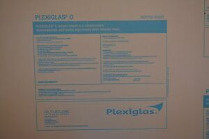Plexiglass Sheet Cell Cast Clear Acrylic 1 4 X 60 X 30