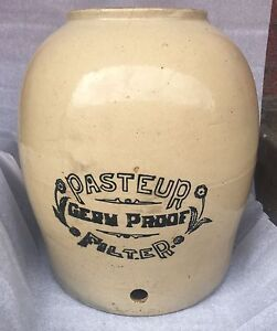 Pasteur Antique Water Ceramic Filter