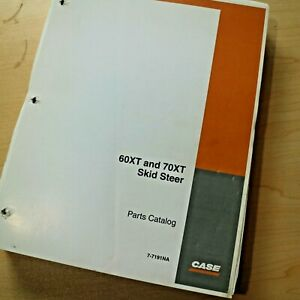 Case 60xt 70xt Uni Mini Skidsteer Loader Parts Manual Book 2004 7 7191na New
