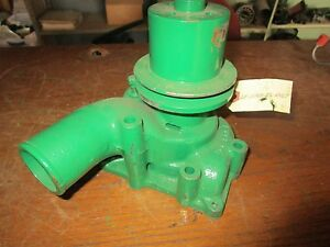 Oliver Tractor 1650 1655 Dsl Water Pump With Pulley Rebuilt