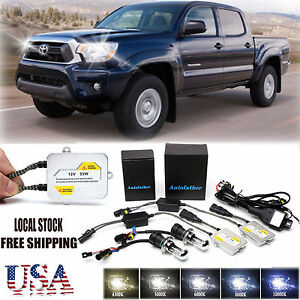 For Toyota Tacoma Hid Conversion Kit 55w H4 Xenon Headlight Bulbs All Colors