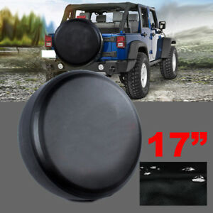 Spare Tire Cover Fit For Jeep Wrangler 17inch Size Xl Wheel Tire Cover