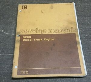 Oem Caterpillar 3208 Diesel Truck Engine Manuals