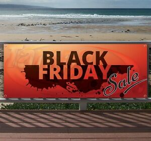 Black Friday Sale Advertising Vinyl Banner Flag Sign Many Sizes Available Usa
