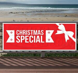 Christmas Special Advertising Vinyl Banner Flag Sign Many Sizes Available Usa