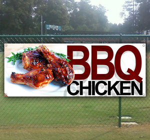 Bbq Chicken Advertising Vinyl Banner Flag Sign Many Sizes Available
