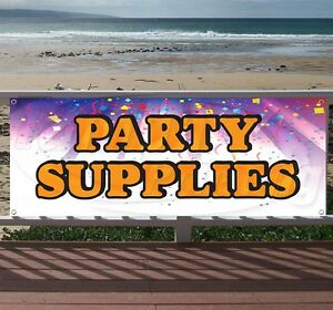 Party Supplies 6 Advertising Vinyl Banner Flag Sign Many Sizes Available