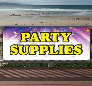 Party Supplies 5 Advertising Vinyl Banner Flag Sign Many Sizes Available