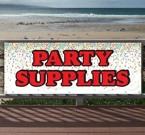 Party Supplies 4 Advertising Vinyl Banner Flag Sign Many Sizes Available