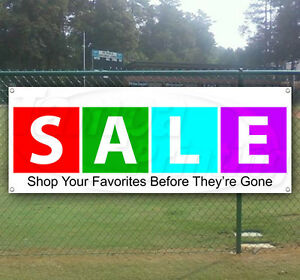 Sale Advertising Vinyl Banner Flag Sign Many Sizes Available Usa