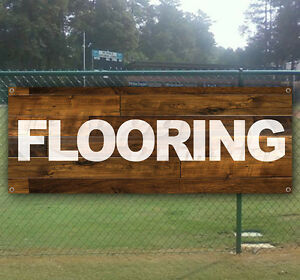 Flooring Advertising Vinyl Banner Flag Sign Many Sizes Available Usa