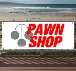 Pawn Shop Advertising Vinyl Banner Flag Sign Many Sizes Available Usa