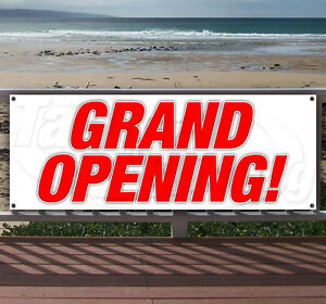 Grand Opening Advertising Vinyl Banner Flag Sign Many Sizes Available Usa