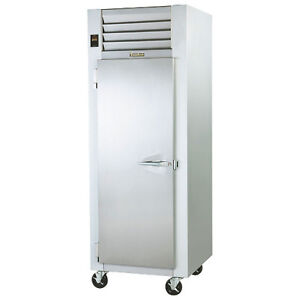 Traulsen G10011 Reach in Refrigerator With Full Height Hinged Left Door