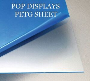 Petg Plastic Sheet Clear 060 X 48 X 96