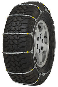 235 75 15 235 75r15 Cobra Jr Cable Tire Chains Snow Traction Suv Light Truck Ice
