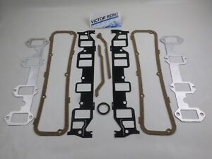 Intake Exhaust Manifold Valve Cover Gaskets Ford Fe 352 361 390 406 410 427 428