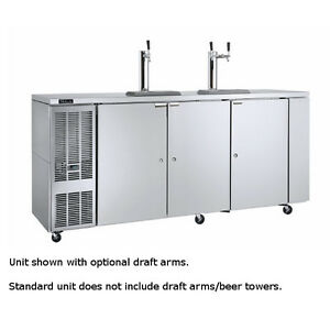 Perlick Ddc92 92 Concessionaire Draft Beer Dispenser With Direct Draw