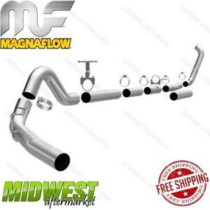 Magnaflow 4 Turbo Back Exhaust For 1999 2003 For F250 F350 7 3l Powerstroke