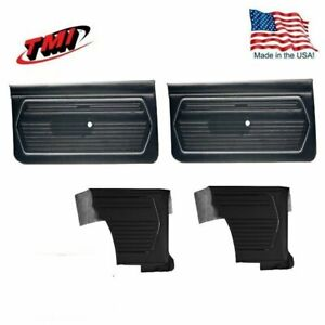 1969 Camaro Standard Door Quarter Panels By Tmi Any Color Made In The Usa