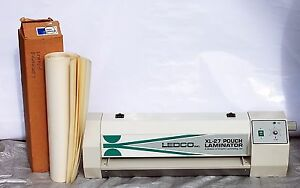 Ledco Xl 27 Pouch Mounting Laminator 27 W Box Of Laminating Pouches