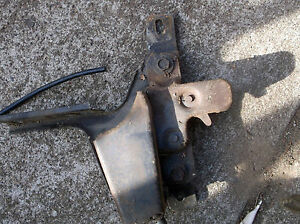 1974 1978 Mustang Ii Hood Latch Release D4zb 69 Remote Parts Mach I Cobra
