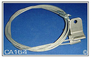 Plymouth Barracuda Convertible Top Hold Down Cables Pair 1967 1969