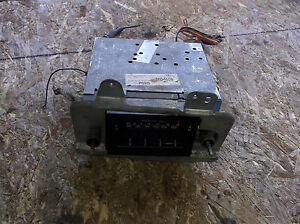 1977 Mustang Ii Am fm 8 Track Stereo Radio Aeronutronic D7af 19a168 Restore Tape
