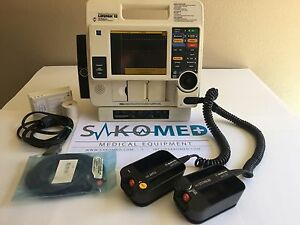 Lifepak 12 Biphasic 3 lead Ecg Aed And Pacing