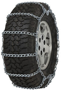 245 75 15 245 75r15 Tire Chains 5 5mm Link Cam Snow Traction Suv Light Truck Ice