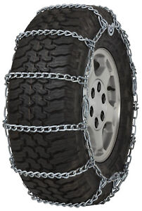 305 70 16 305 70r16 Tire Chains 7mm Link Cam Snow Traction Suv Light Truck Ice