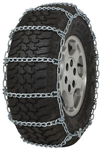 255 75 16 255 75r16 Tire Chains 5 5mm Link Non Cam Snow Traction Suv Light Truck